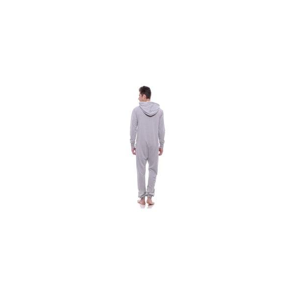 Unisex domácí overal Streetfly Thin Light Grey, vel. S