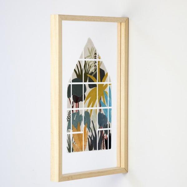 Jungle Window fali dekoráció - Really Nice Things
