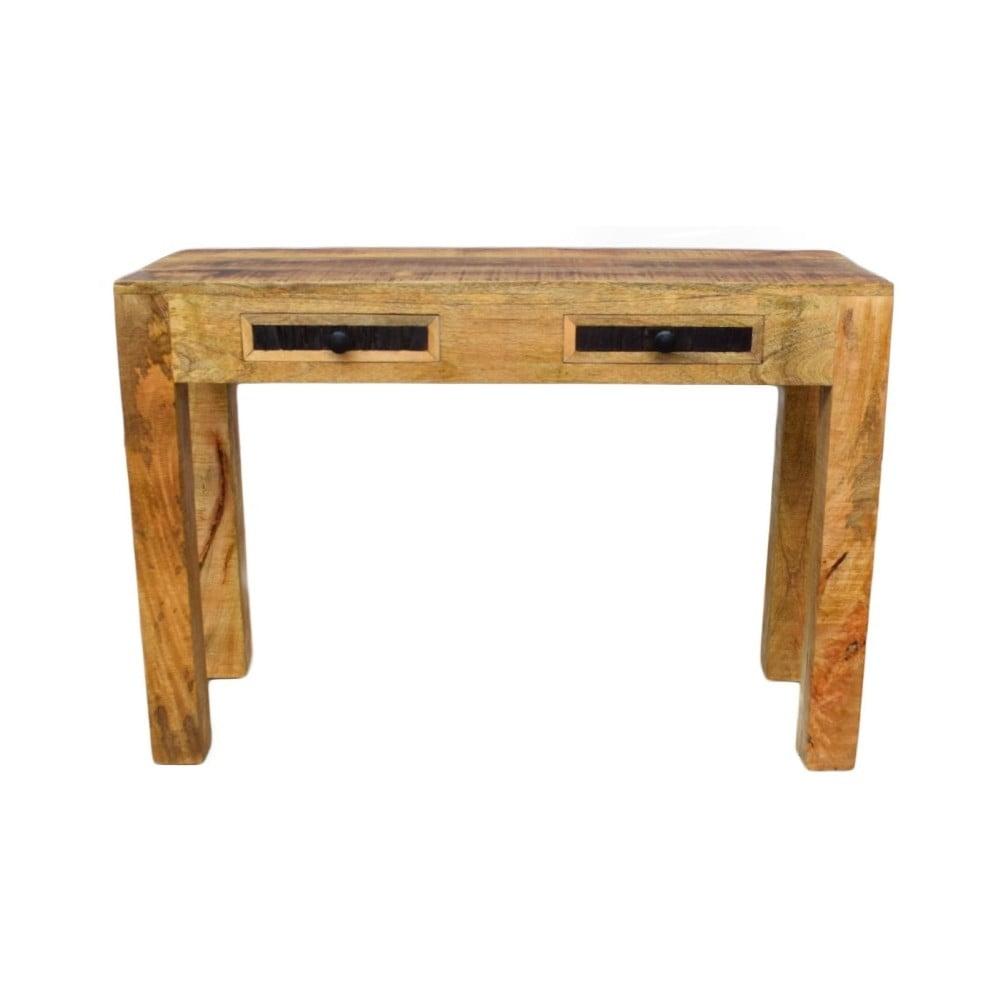 Konzolový stolek z masivního mangového dřeva Massive Home Bella