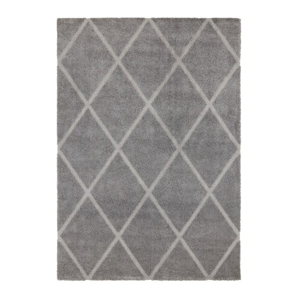 Maniac Lunel szürke szőnyeg, 120 x 170 cm - Elle Decor