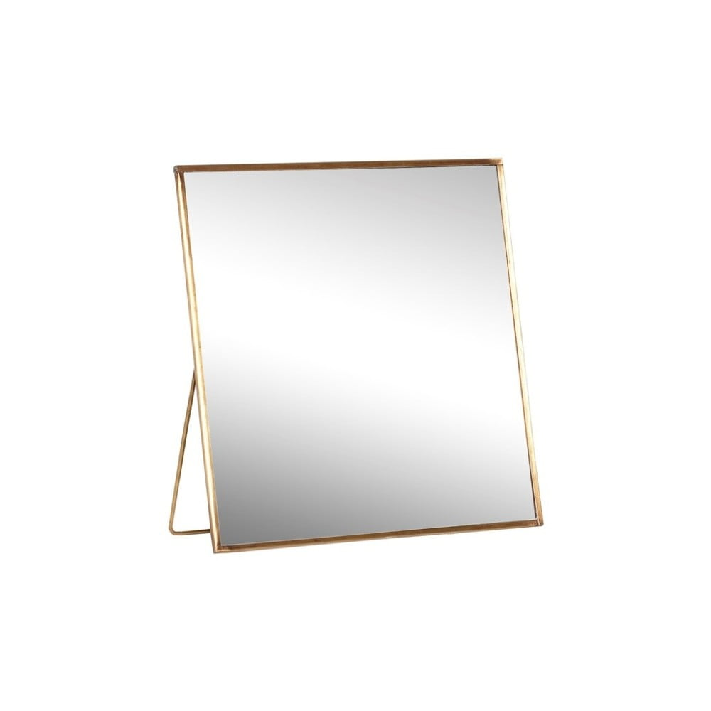 Stolní zrcadlo Hübsch Toke, 20x20cm