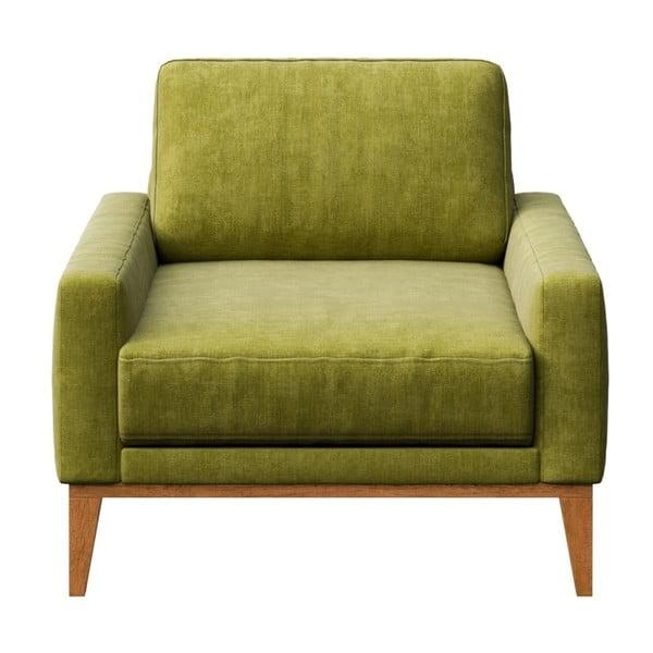 Zelené křeslo MESONICA Musso