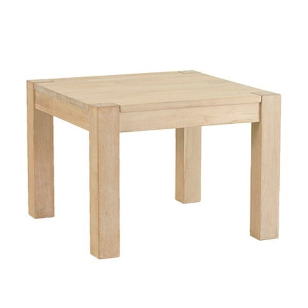 Konferenčný stolík z dubového dreva Furnhouse Texas, 70 x 70 cm