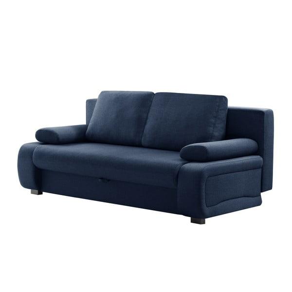 Bonheur kék háromszemélyes kinyitható kanapé - INTERIEUR DE FAMILLE PARIS