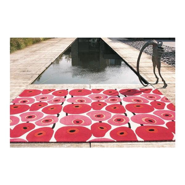 Vlněný koberec Avocadis, 80x80 cm