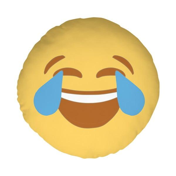 Polštář Emoji Cry, 39 cm