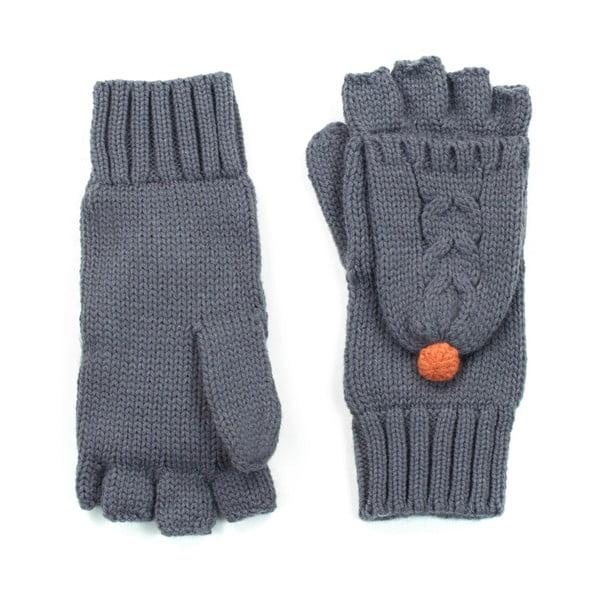 Šedé rukavice Hannah
