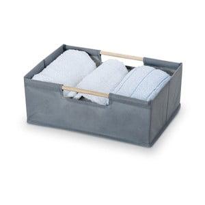 Šedý úložný box Bonita Basket