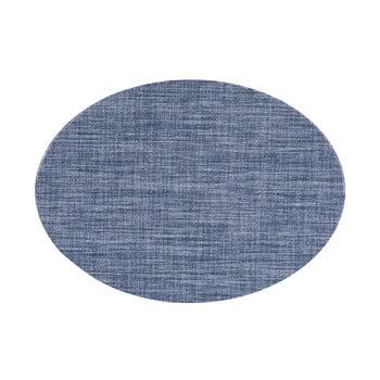 Suport pentru farfurie Tiseco Home Studio Oval, 46 x 33 cm, albastru imagine