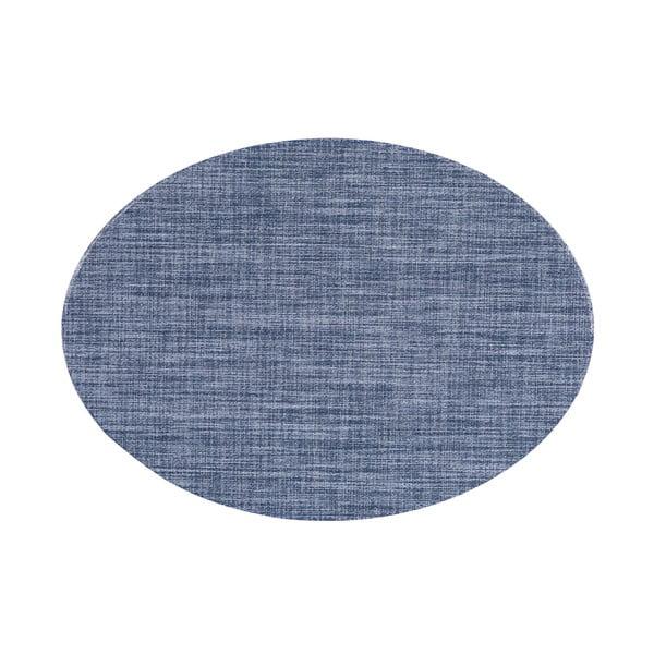 Oval kék tányéralátét, 46 x 33 cm - Tiseco Home Studio