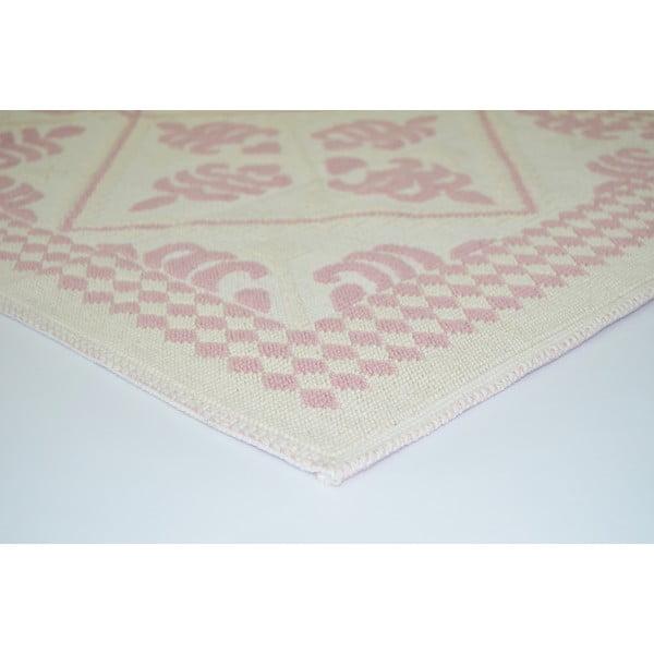 Pudrově růžový odolný koberec Vitaus Lulu, 100x150cm