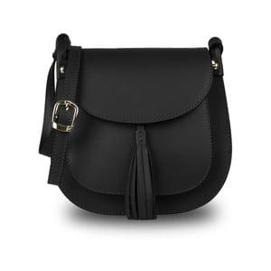 Černá kabelka z pravé kůže JOHN FISH Cior