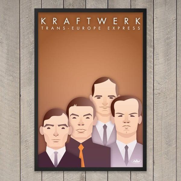 Plakát Kraftwerk, 29,7x42 cm