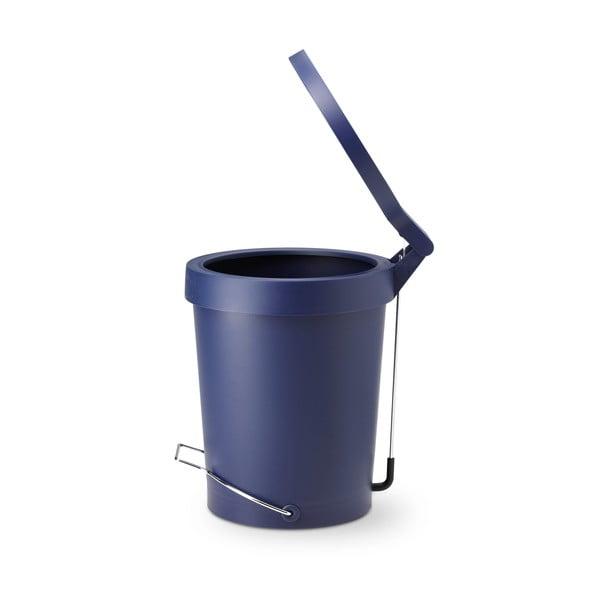 Pedálový koš Tip, 15 l, kobaltová modř