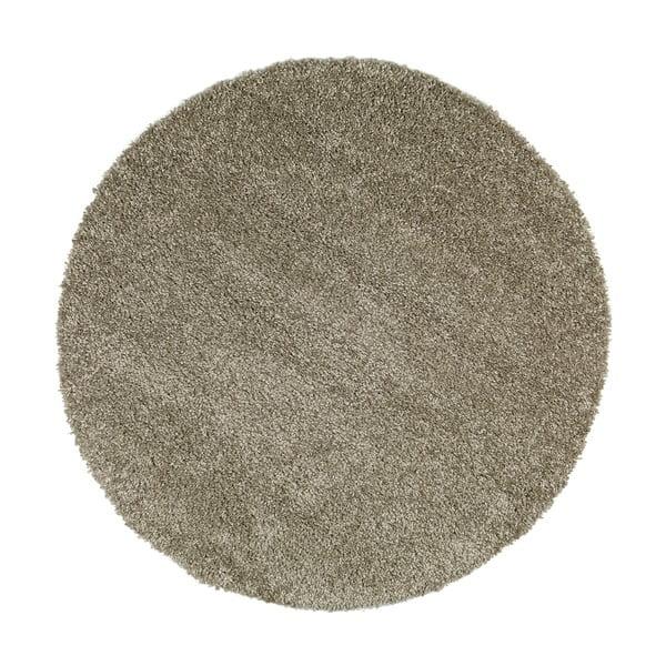 Šedý koberec Universal Aqua Liso, ø100cm