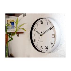 Bílé nástěnné hodiny WALPLUS ChicTime, ⌀ 25 cm
