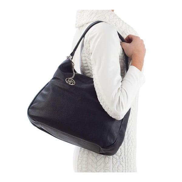 Kožená kabelka Alessandro, tmavě modrá