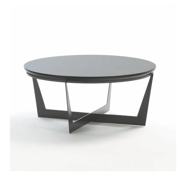 Konferenční stolek ze dřeva Thai Natura, ⌀ 90 cm