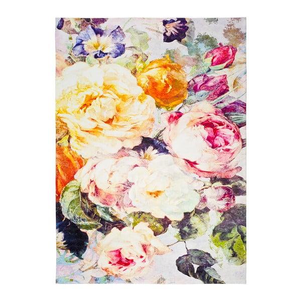 Covor Universal Chenile Flowerina, 80x150cm