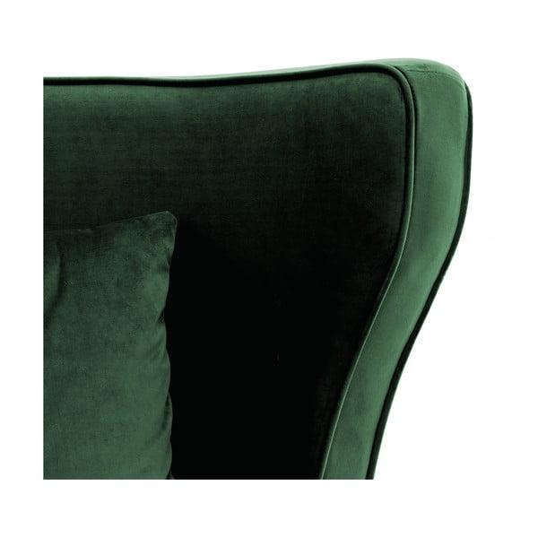 Fotoliu Vivonita Douglas Love Seat Emerald, verde închis