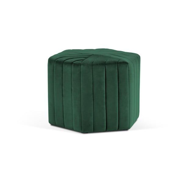 Puf Milo Casa Alice, ⌀60cm, verde