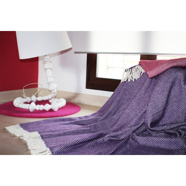 Deka Zen Plaid Purple, 140x180 cm