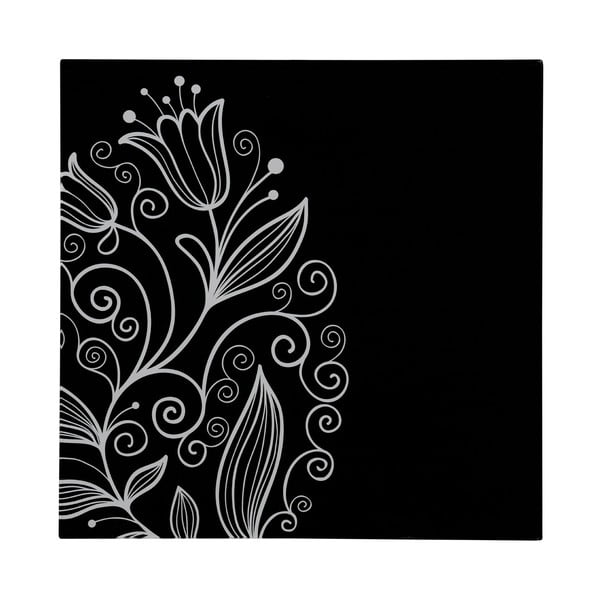 Skleněný obraz Tulip, 30x30 cm