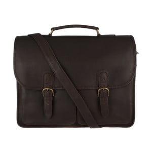 Kožená pánská taška Herdley Brown