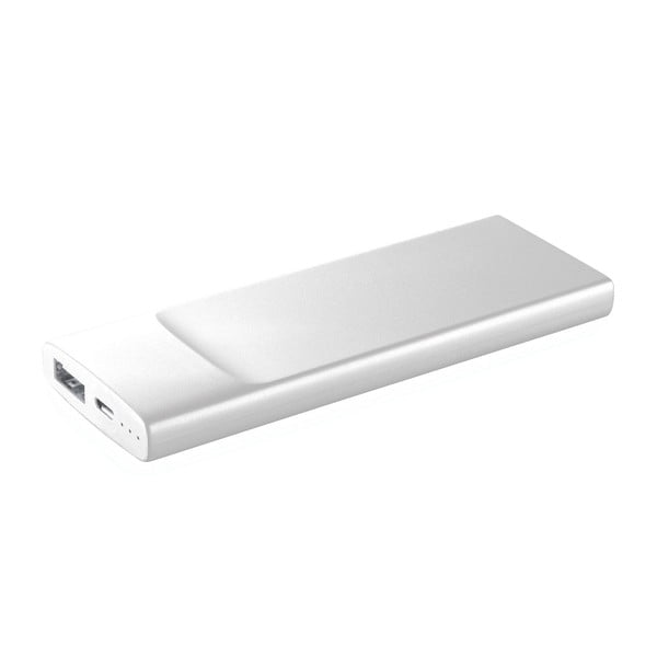 Ultratenká powerbanka CellularLine FREEPOWER Slim, 3600mAh, bílá