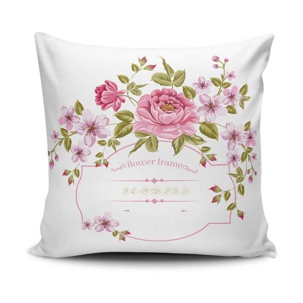 Față de pernă cu adaos de bumbac Cushion Love Lovely, 45 x 45 cm
