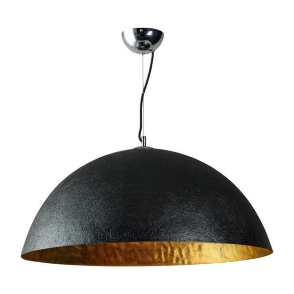 Mezzo Tondo fekete-arany mennyezeti lámpa, ⌀ 70 cm - ETH