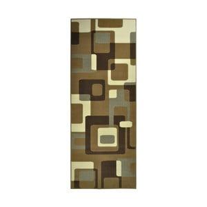 Hnědý koberec Hanse Home Hamla Retro, 80x150cm