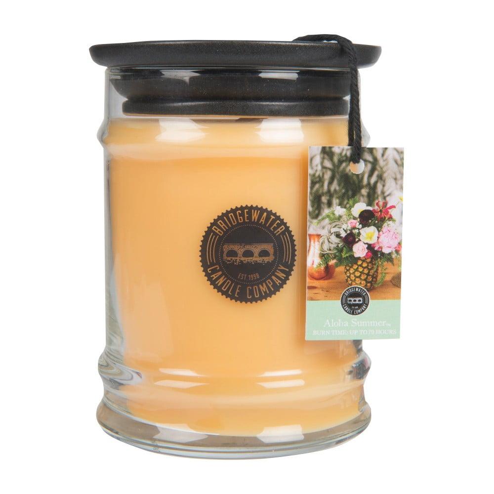 Svíčka ve skleněné dóze Bridgewater Candle Company Aloha Summer, doba hoření 65-85 hodin