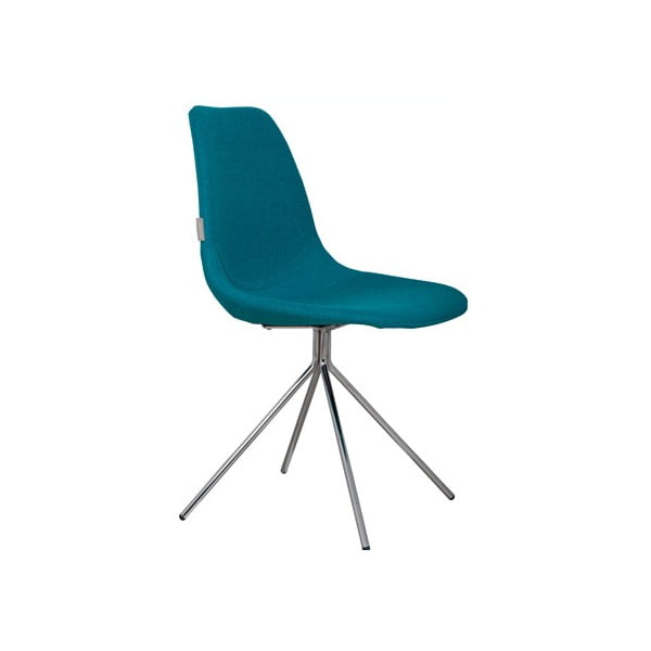 Židle Fourteen Up Chrome Blue