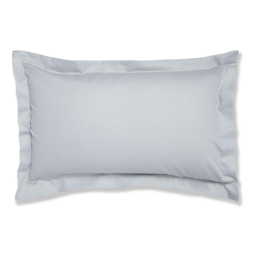 Sada 2 šedých bavlněných povlaků na polštář Bianca Oxford, 50 x 75 cm