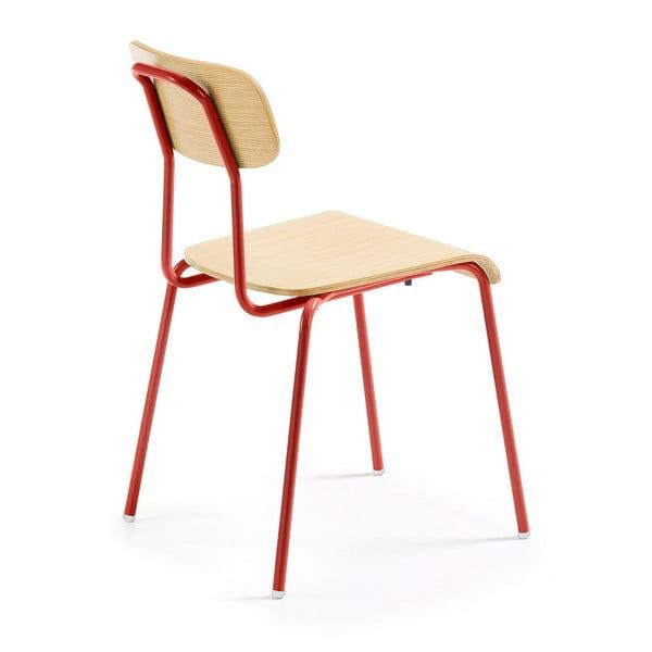 Scaun cu picioare roşii La Forma Klee