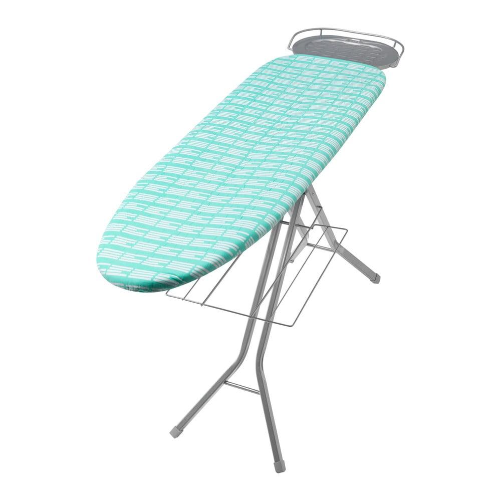 Potah na žehlicí prkno Addis Large PErfect Fit Aquagreen Stripe