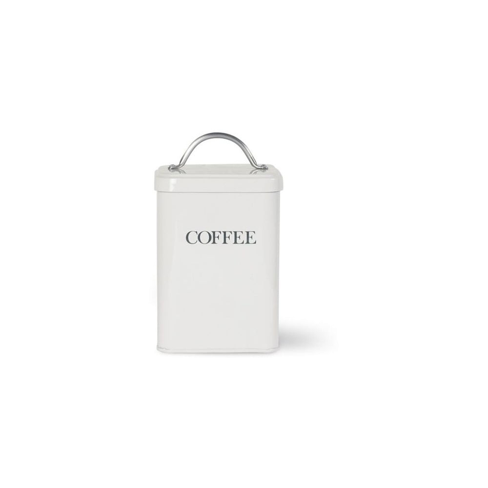Bílá dóza na kávu Garden Trading White Coffee