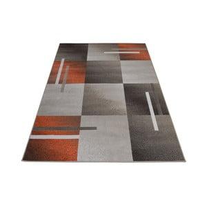 Hnědošedý koberec Webtappeti Modern, 140x200cm
