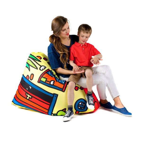 Dětský sedací vak DOMeček