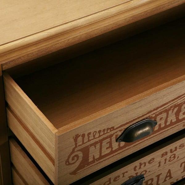 Dřevěná komoda se 3 šuplíky Versa Riano
