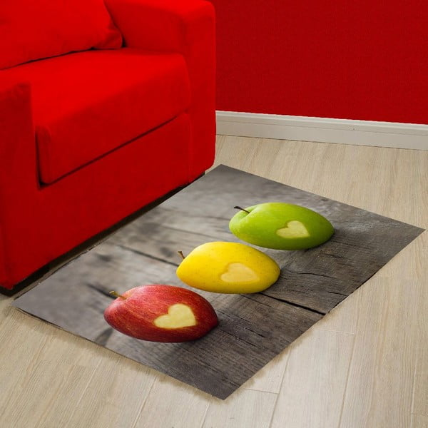 Vinylový koberec Apple, 52x75 cm
