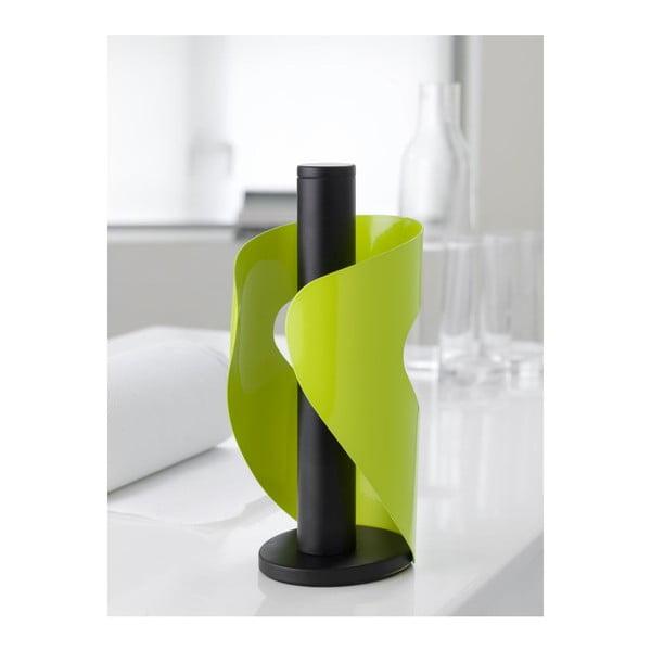 Držák na ubrousky Pisa, green/black