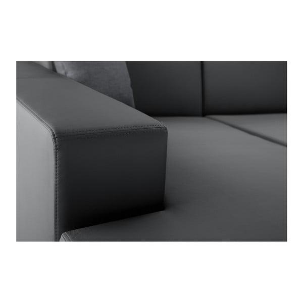 Světle šedá rozkládací sedačka Interieur De Famille Paris Tresor, levý roh
