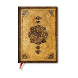Zápisník s měkkou vazbou Paperblanks Safavid, 13x18cm