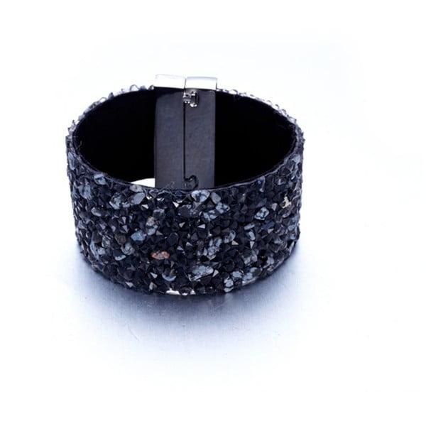 Sametový náramek s krystaly Swarovski Elements Crystals Claude