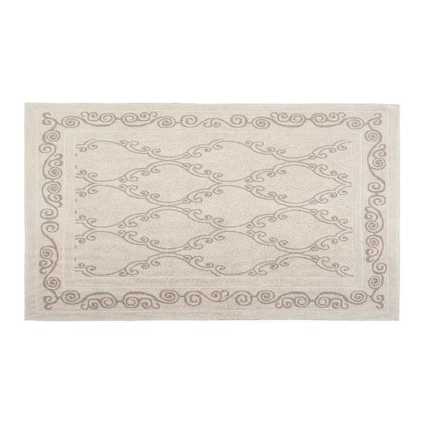 Bavlněný koberec Gina 100x200 cm, krémový