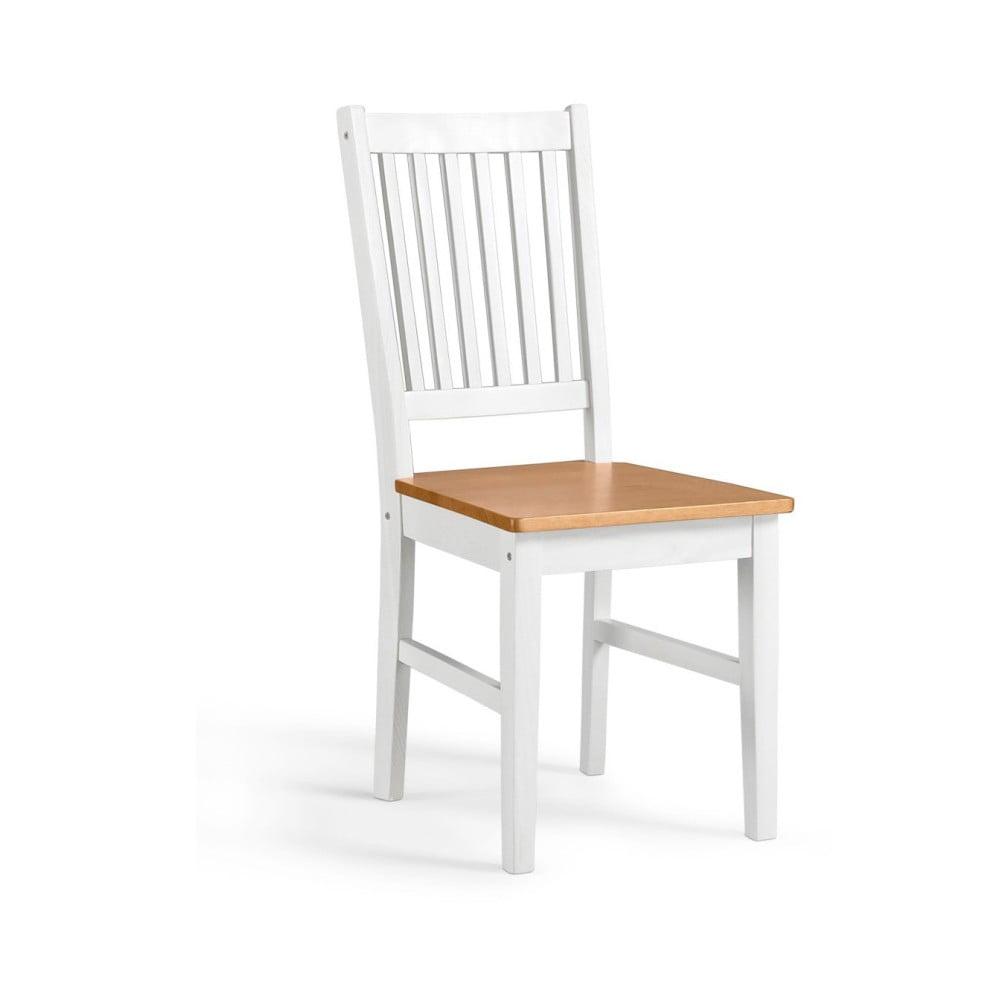 Sada 2 bílých židlí z borovicového masivu Støraa Daisy