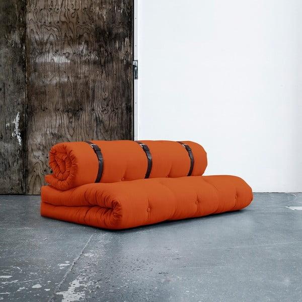 Variabilná pohovka Karup Buckle Up Orange