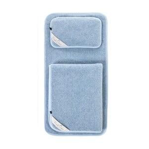Dětský modrý ložnicový set z merino vlny Royal Dream